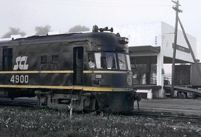 Seaboard Coast Line Train 98, The Champion, at Naples, FL on March 14, 1971