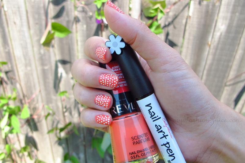 Polka Dot Summer Nails
