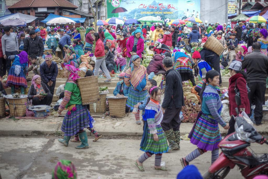 Bac Ha Sunday Market.