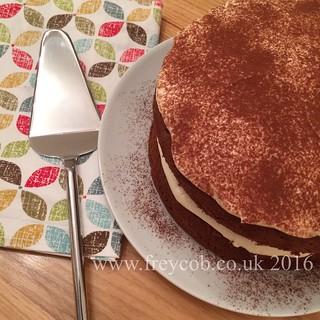 Tiramisu coffee cake