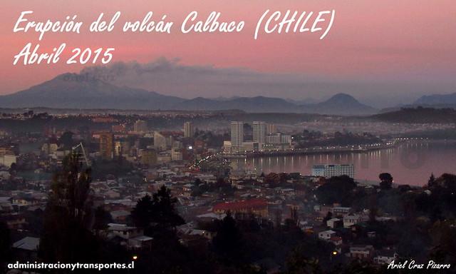 Viaje Erupción del volcán Calbuco (Chile)