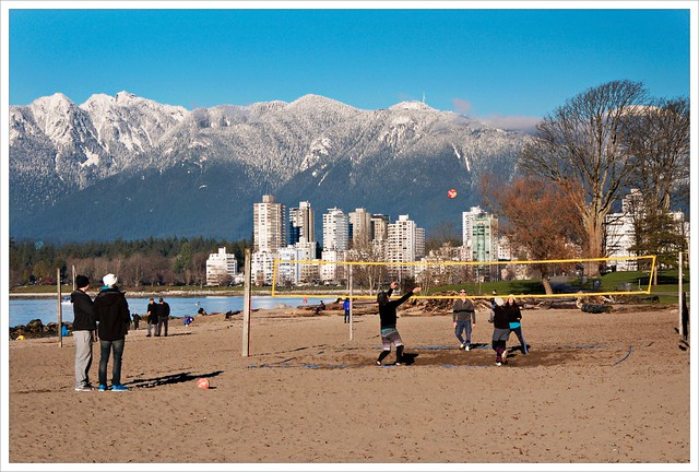 Beach Volleyball in December :)
