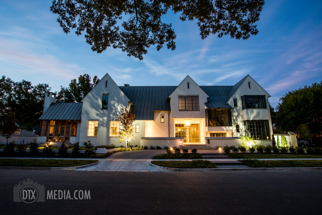 Dallas Nighttime Real Estate photography