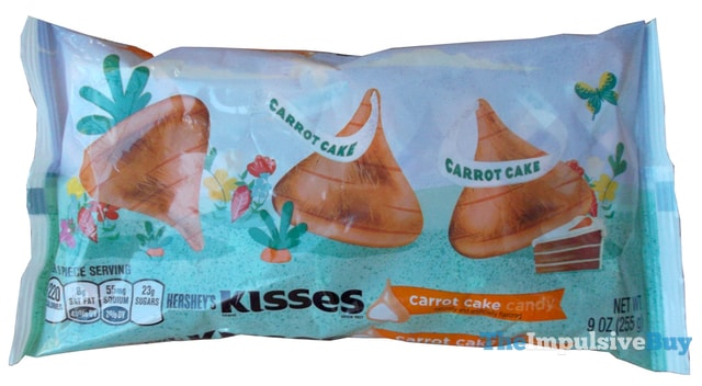 Hershey's Carrot Cake Kisses