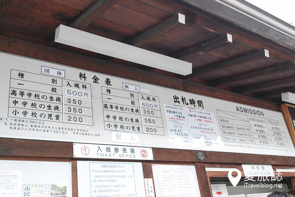 京都赏樱景点 元离宫二条城 03