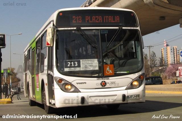 Transantiago (213) - Subus Chile - Marcopolo Gran Viale / Volvo (BJFJ39) (7272)