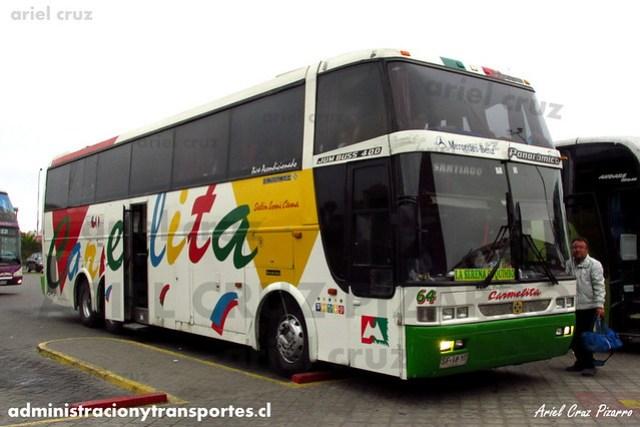 Pullman Carmelita - La Serena - Busscar Jum Buss 400T / Mercedes Benz (SF1810) (64)