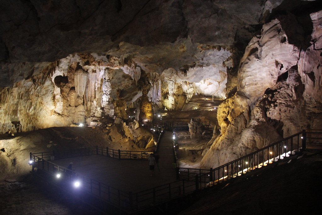 paradise cave i Phong Nha, Vietnam