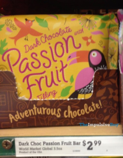 World Market Dark Chocolate with Passion Fruit Filling
