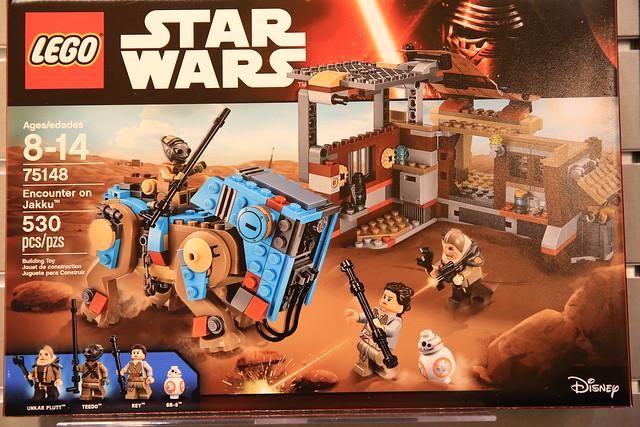 nouveautés LEGO Star Wars 2016 75148 Encounter on Jakku 1