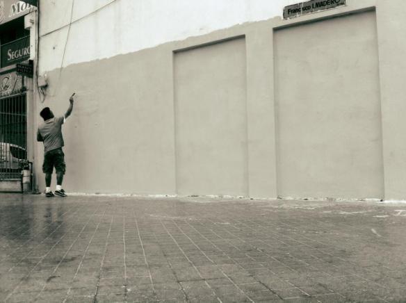 Muro en blanco