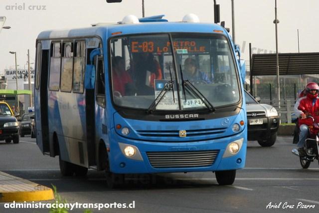 Transantiago - Unitran - Busscar Micruss / Mercedes Benz (BJFP33)