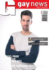 'Gay News' Mei 2016, in opdracht van Gay International Press