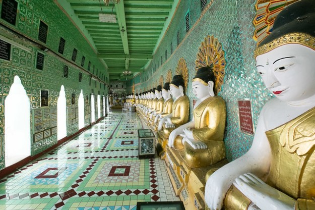 Hall of Buddhas. Sagaing