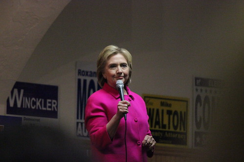 Hillary Clinton at the Scott County Democratic Dinner