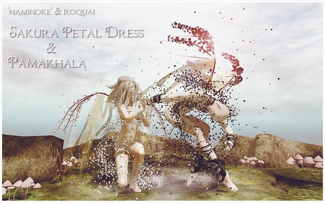 NAMINOKE & ROQUAI Sakura Petal & Pamakhala AD