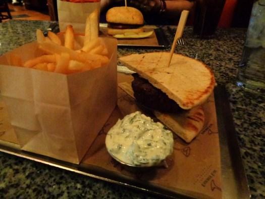 Burger Bar, Mandalay Bay, Las Vegas NV