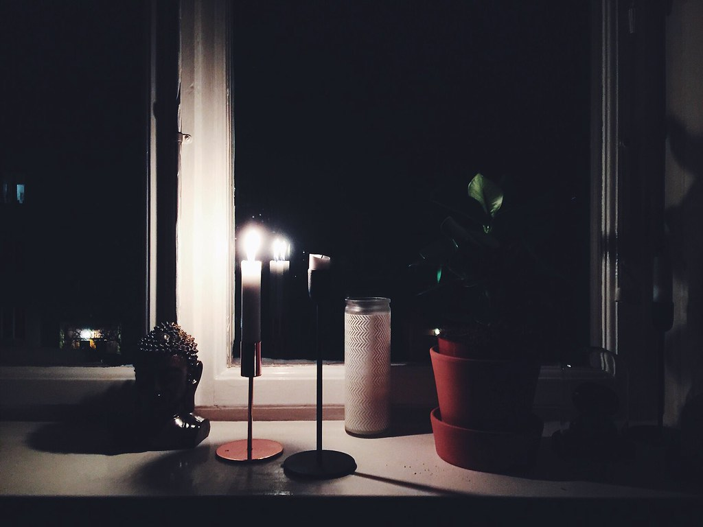 morning meditation window