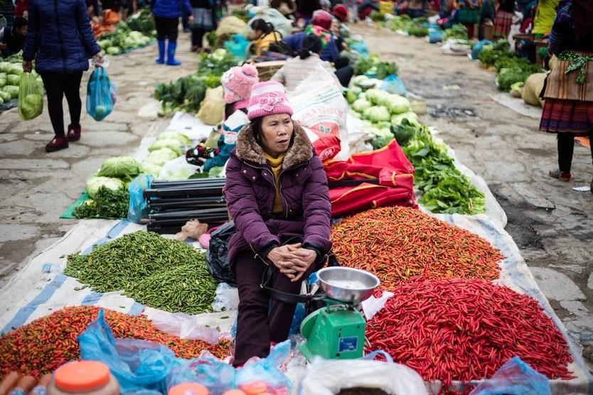 Bac Ha Sunday Market 01