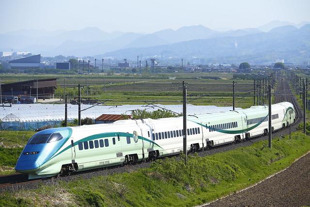 """Series E3 Type 700 """"Toreiyu TSUBASA""""   Forwarded to Fukushima"""