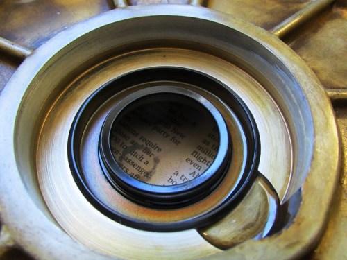 Old Front Crankshaft Seal