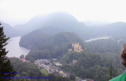 Castillo de Hohenschwangau y lagos