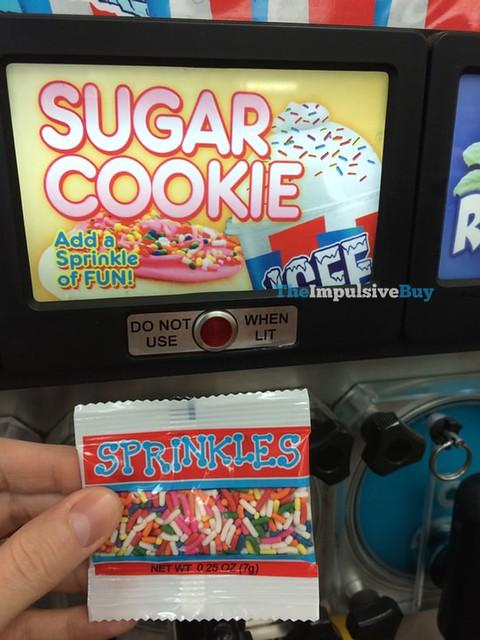 Sugar Cookie ICEE with Sprinkles