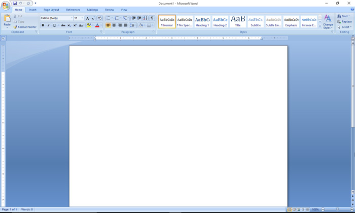 Creatng Word Document
