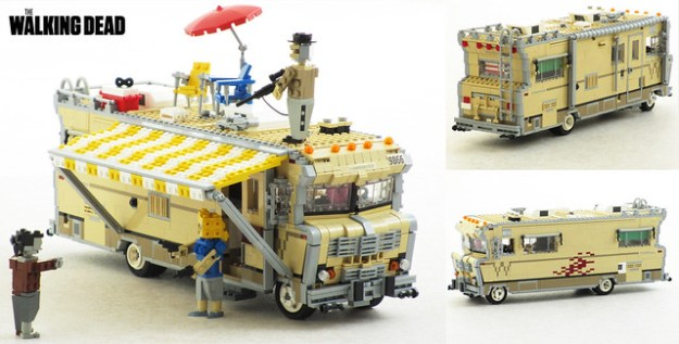 Dale S Rv From The Walking Dead In Lego The Brothers
