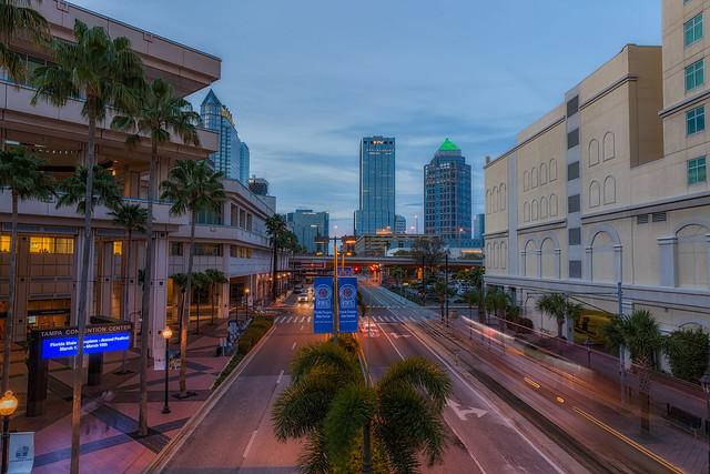 a vida em Tampa, Florida