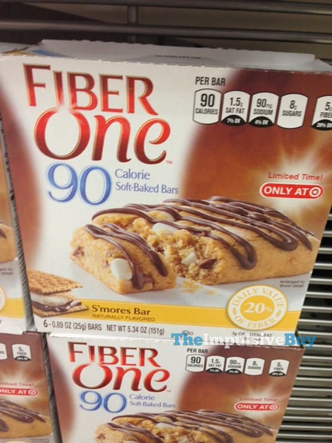 Fiber One 90 Calorie Soft-Baked S'mores Bar