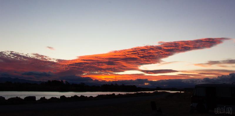 Blenheim sunset