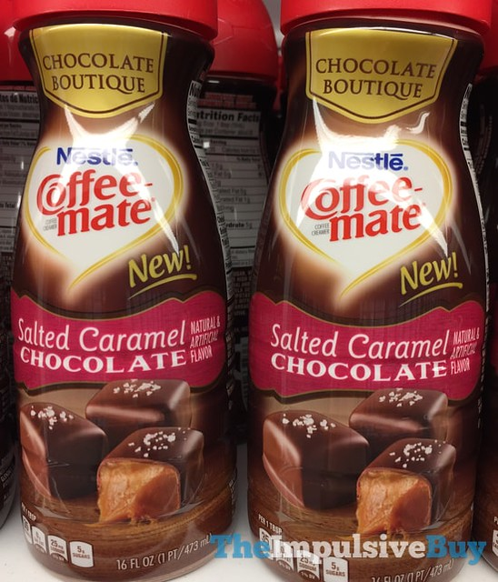 Nestle Coffee-mate Chocoalte Boutique Salted Caramel Chocolate