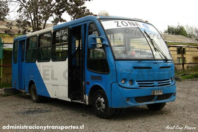 Transantiago - Unitran - Caio Piccolo / Mercedes Benz (VX4345)