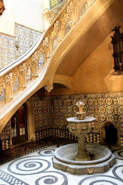 Interior del Baró de Quadras