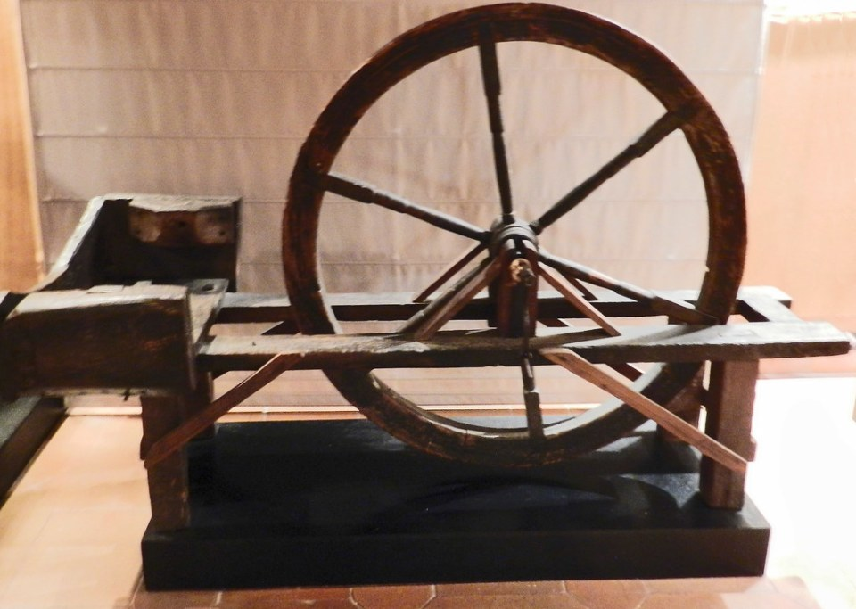 Etnografia manufactura textil tradicional Museo Provincial Caceres 02