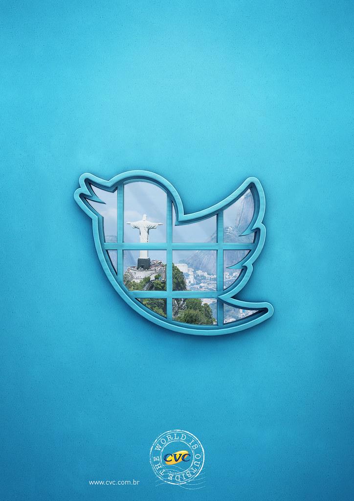 CVC Travel agency - The world is outside Twitter