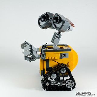 REVIEW LEGO 21303 WALL-E LEGO IDEAS 21