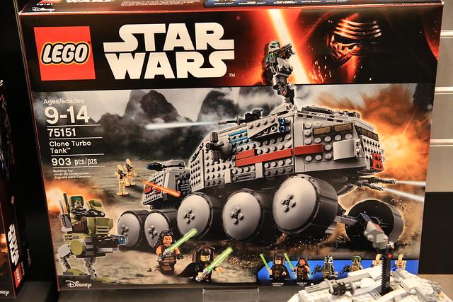 LEGO Star Wars 75151 Clone Turbo Tank 1