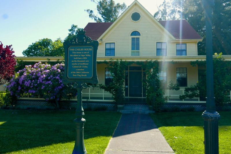 One of the oldest houses in Napa Valley is on the Inglenook estate