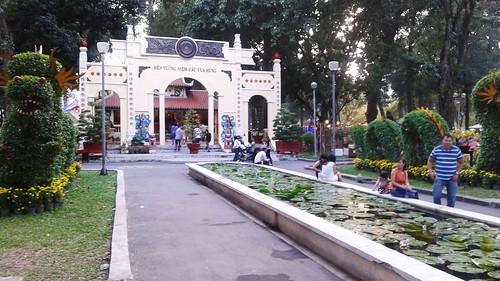 Entrance to Den Hung Temple