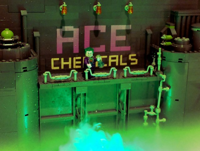 Return to Ace Chemicals... LEGO Iron Builder