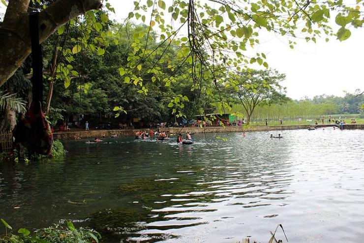 Main di Malang - Sumber Sirah - Pemandangan sisi Utara