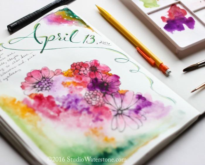 My Sketchbook: April 13, 2016