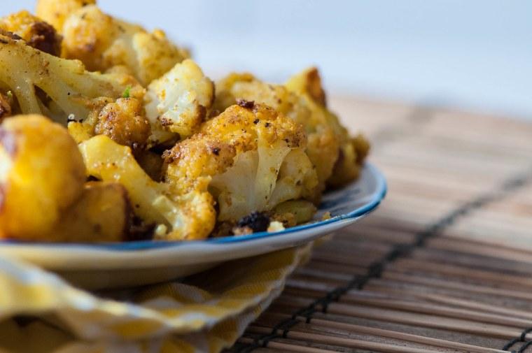 Indian-Style Roasted Cauliflower 5