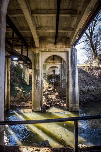 Cleveland Street Bridge over Swamp Rabbit Trail-001