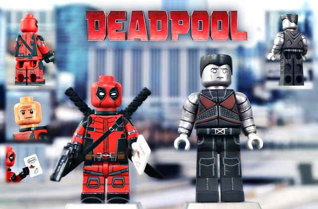 LEGO Deadpool and Colossus