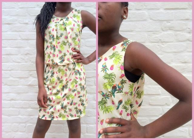 Pretty Paris dress (collage1)