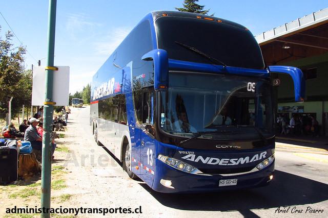 Andesmar Chile - Bariloche - Comil Campione DD / Volvo (HSGG45) (13)