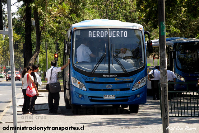 Centropuerto   Los Héroes   Mascarello Gran Midi - Mercedes Benz (DRZH35)